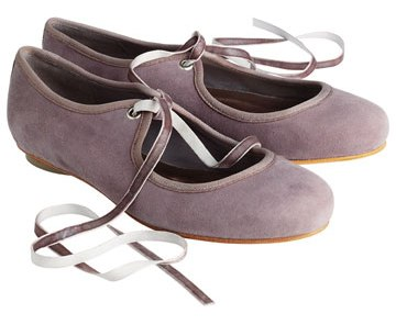 RIBBON TIE SHOES FROM TOAST