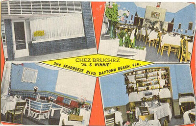 Vintage postcard florida