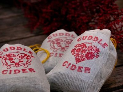 Cuddle with cider