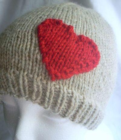 Heaert hat
