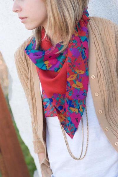Dig vintage scarves