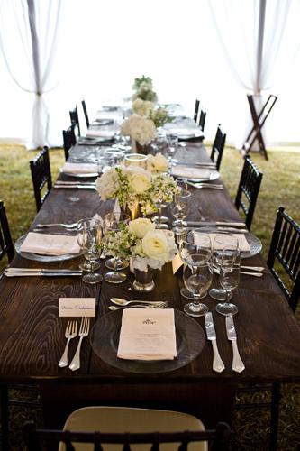 Mahogony tables