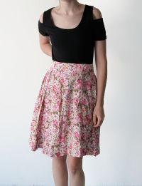 Floral skirt antipodium