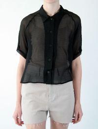 Rachel comey silk blouse
