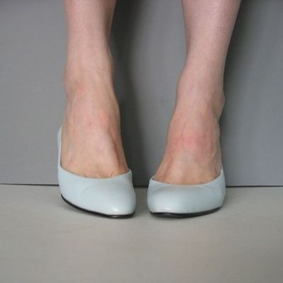 Vintage shoes kitten heels