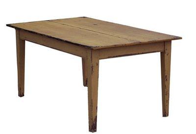Pine table rustic farm table