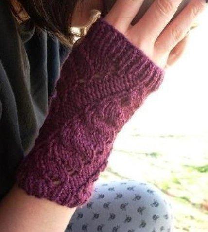 Knitsational arm warmers