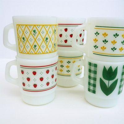 Folksy mugs
