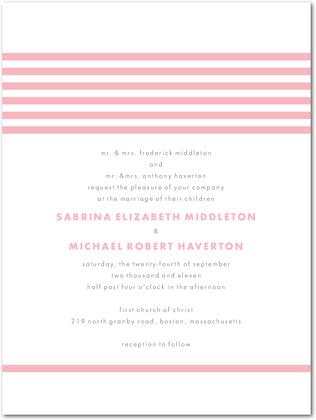 Wedding paper divas letterpress invitations