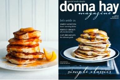 Donna hay ricotta pancakes