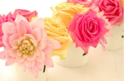 Diy flower centerpieces