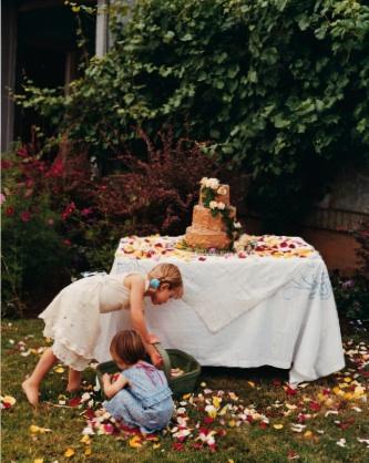 Country living kara larsson wedding 2