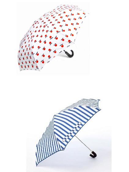 Cute umbrellas frolic