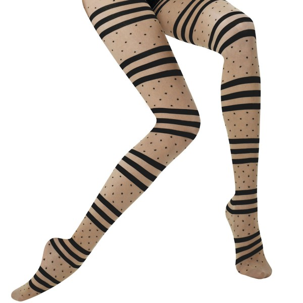 Lille striped tights