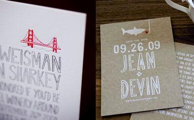 Hand lettering invitation