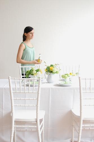 Green_white_wedding
