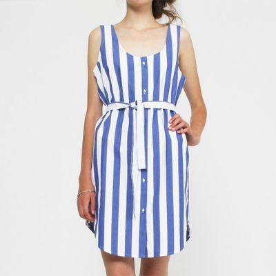 Striped-summer-dress-wood-wood