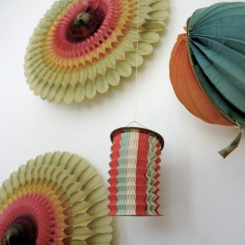 Vintage-paper-decorations