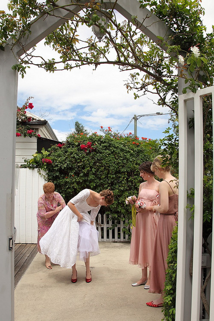 Wedding-short-dress
