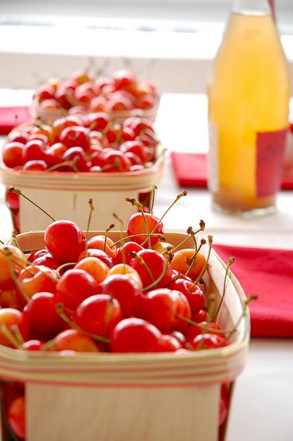 Cherry centerpiece