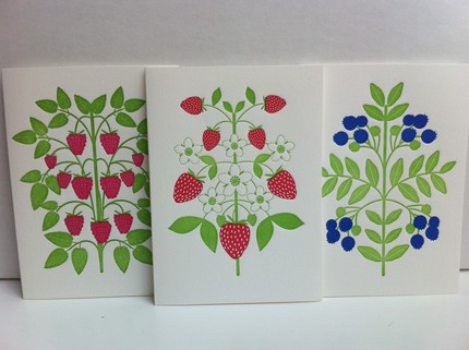 Berry letterpress
