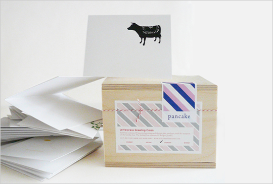Pancake letterpress