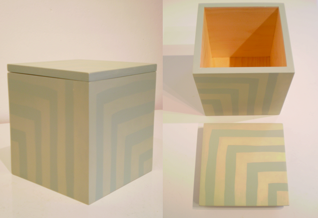 Stenciled boxes