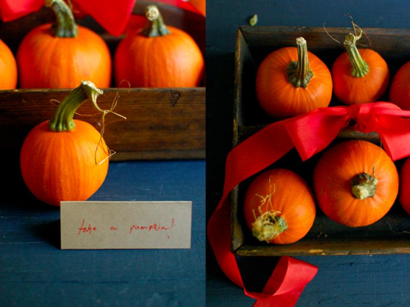 Pumpkin favors