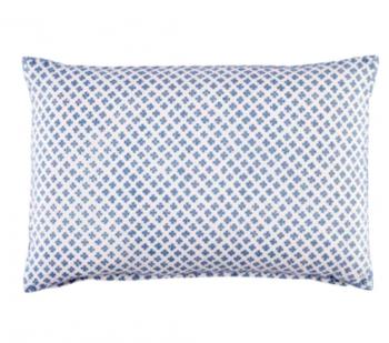 Block printed pillow