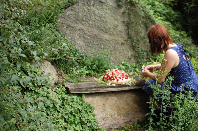 Strawberry cake spreewald