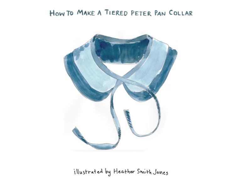 Tiered peter pan collar