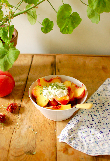 Peaches-and-creme-fraiche