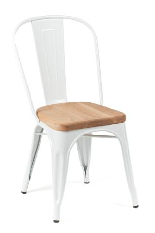 White wood flanders chair