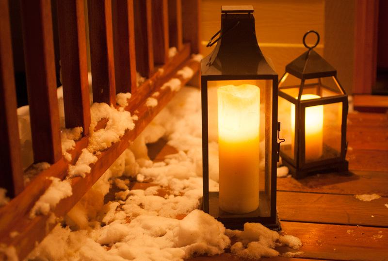Lanterns-winter