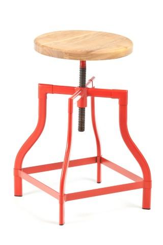 Red machinist stool