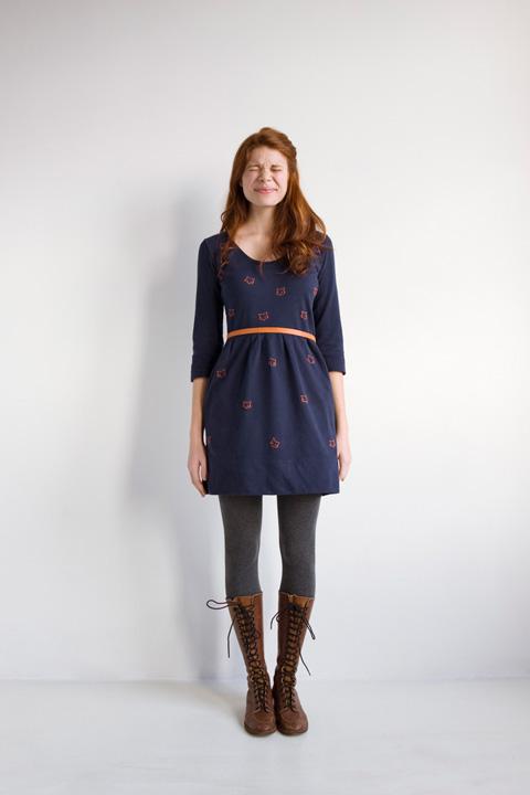 Blue-fox-dress