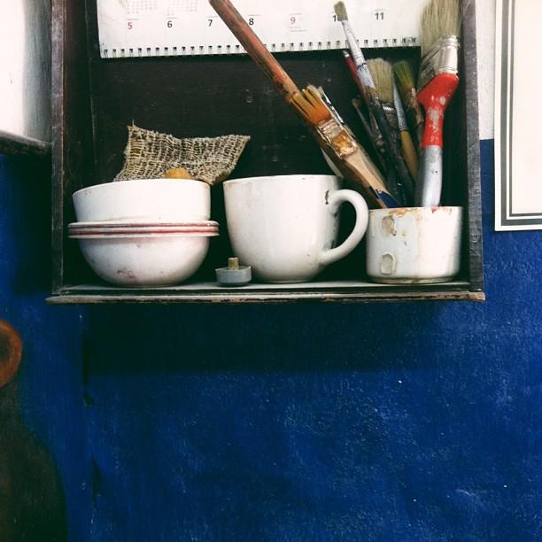 Potters studio