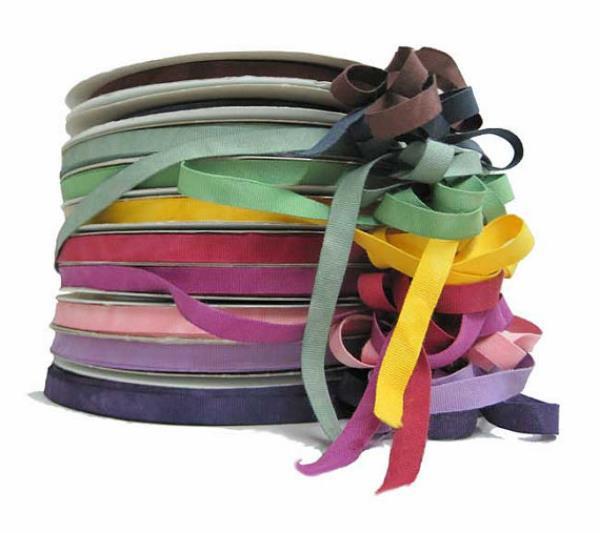 Organic cotton ribbon