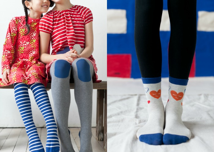 Hearts stripes girls clothing