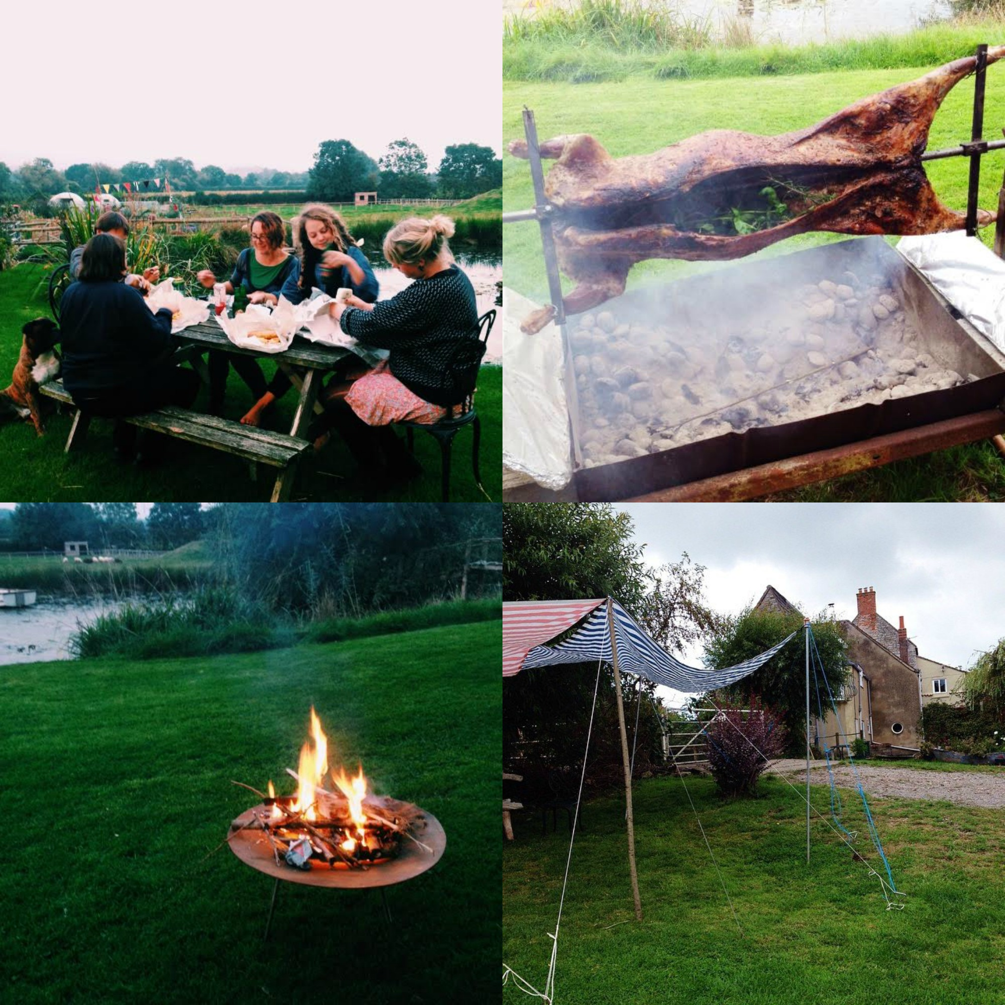 england outdoor feasts