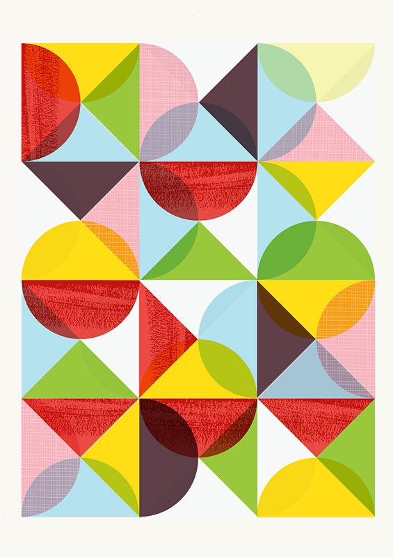 abstract print