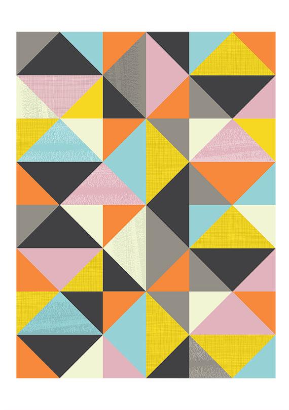 abstract swedish poster