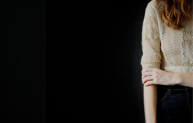 camillia heirloom vintage blouse