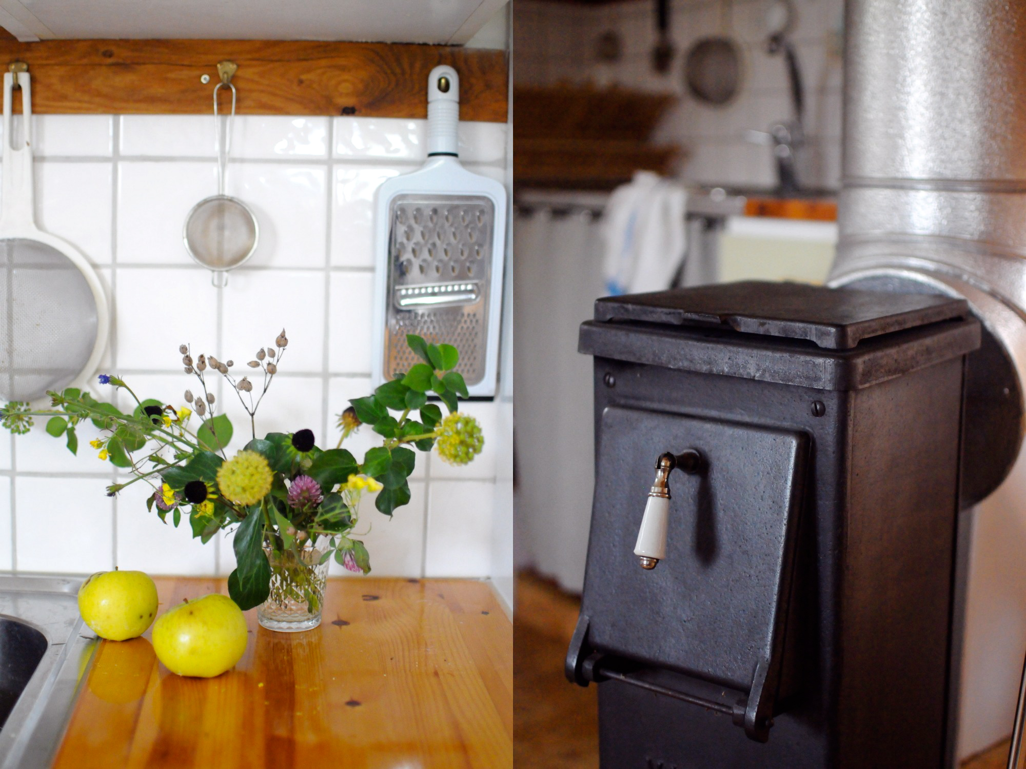 cast iron stove swedish kitchen