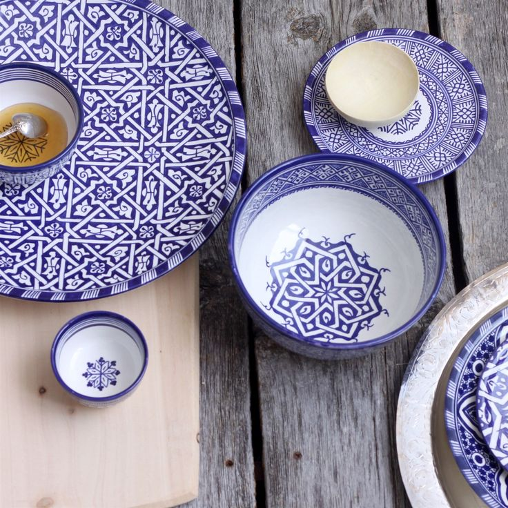 moroccoan dinnerware