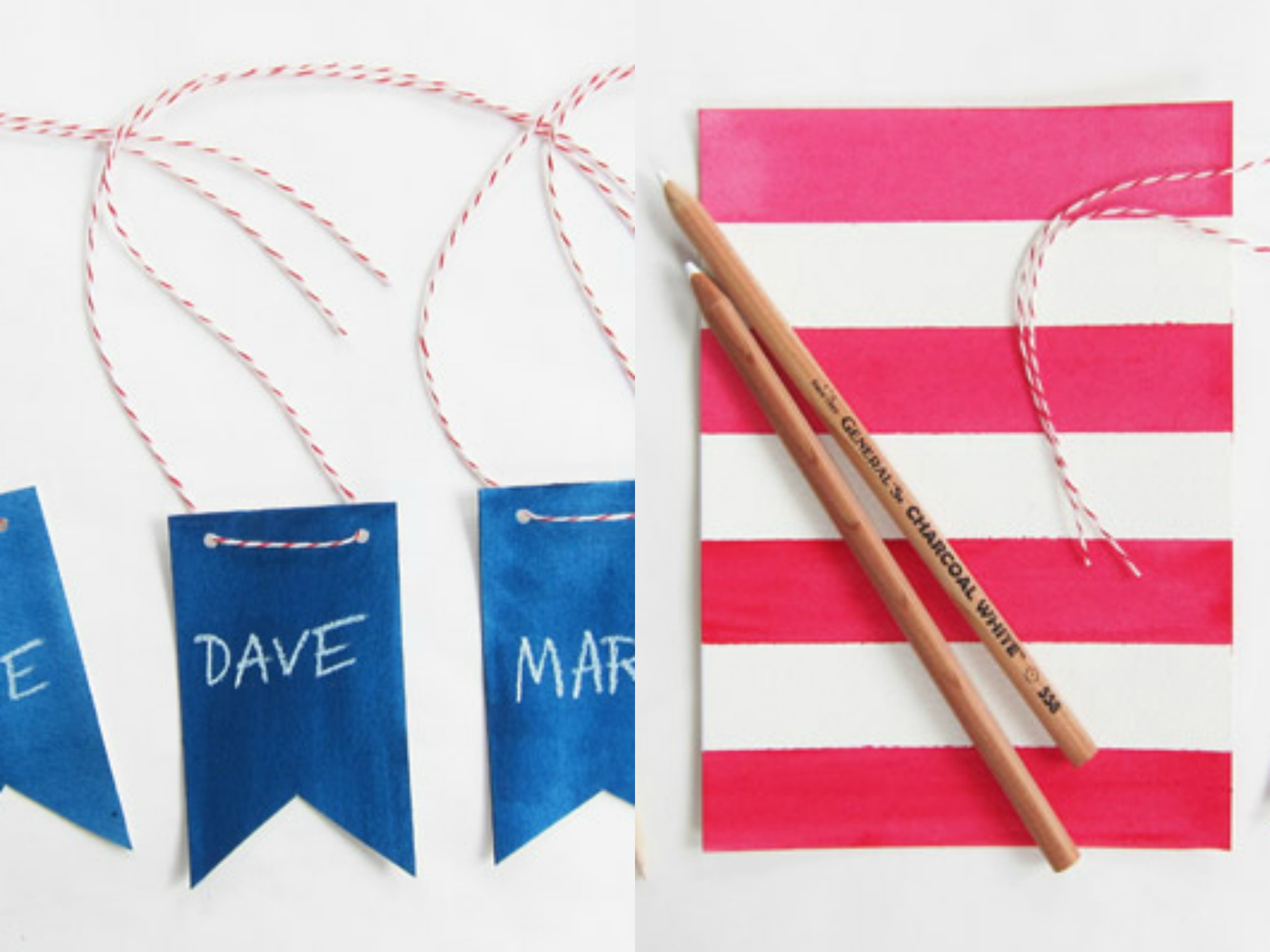 4th of july name tags