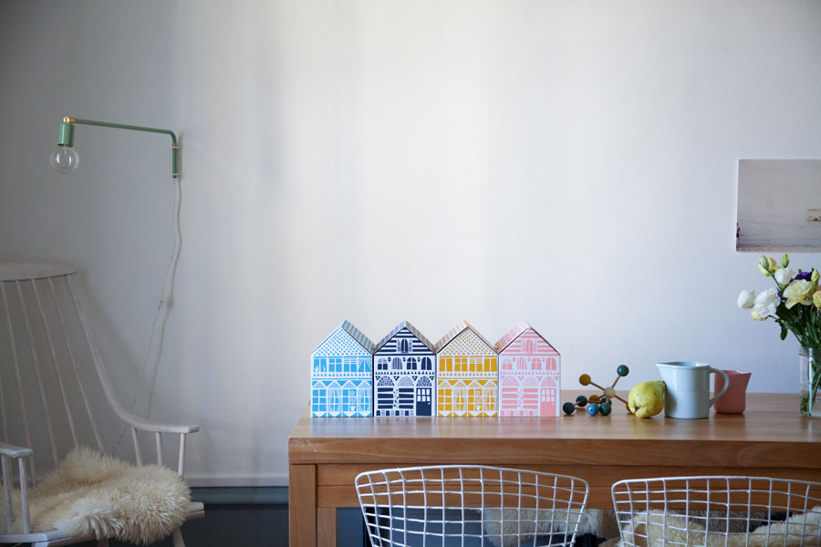paper house boxes