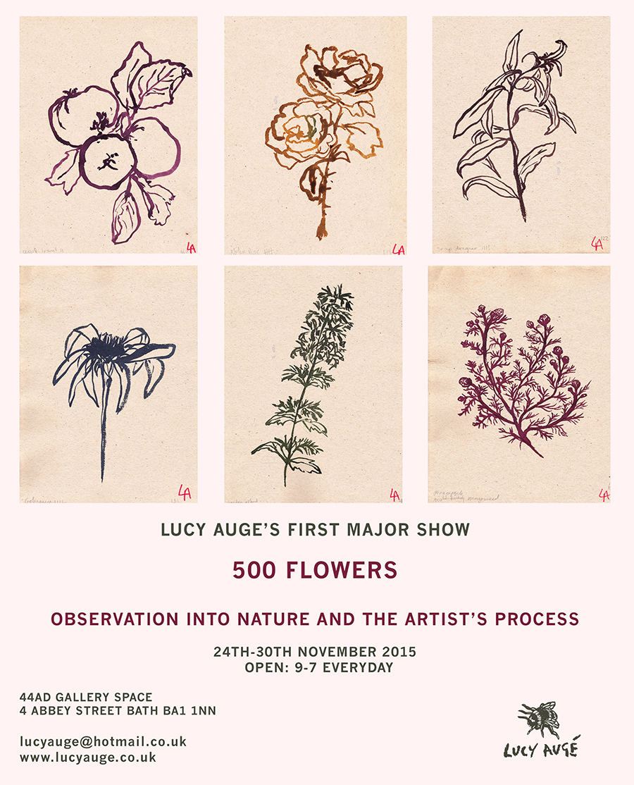 lucy auge 500 flowers