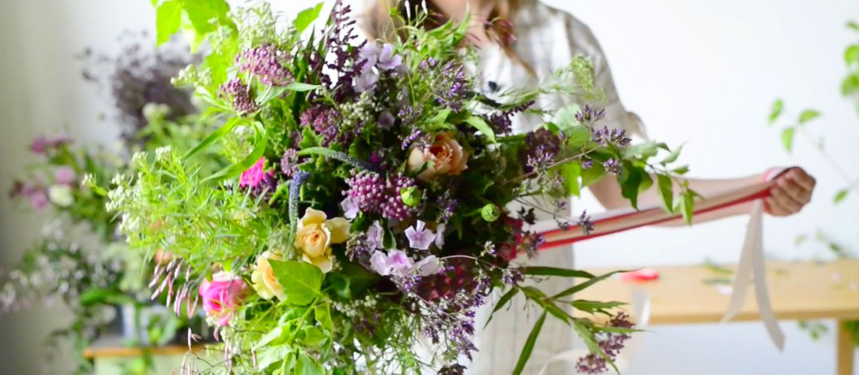 online wedding flower class