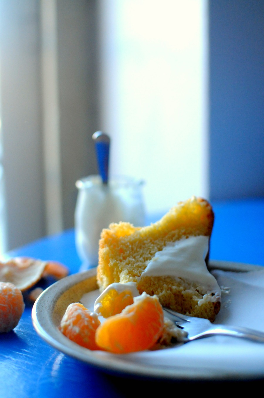 pao de lo with oranges and cream